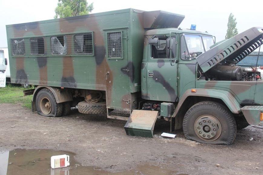 Последствия обстрела «Градами» боевиками «ЛНР» в Луганской области зафиксировали в ОБСЕ (ФОТО), фото-9