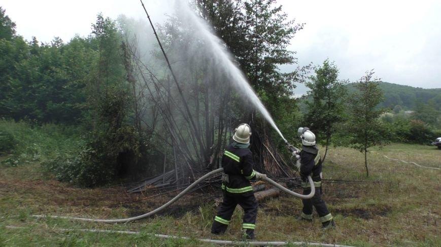 Буковинські рятувальники  вчилися  гасити  масштабну  лісову пожежу (ФОТО) (фото) - фото 2