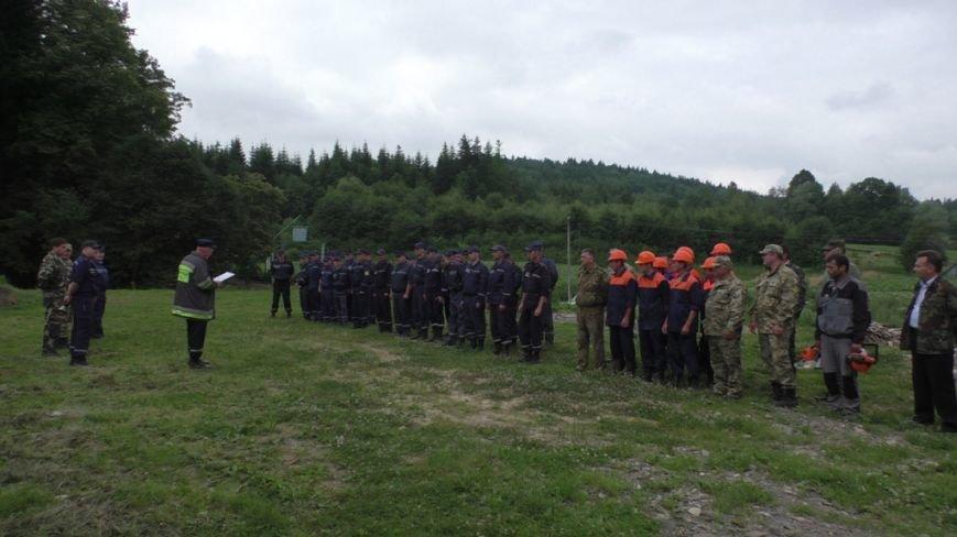 Буковинські рятувальники  вчилися  гасити  масштабну  лісову пожежу (ФОТО) (фото) - фото 9