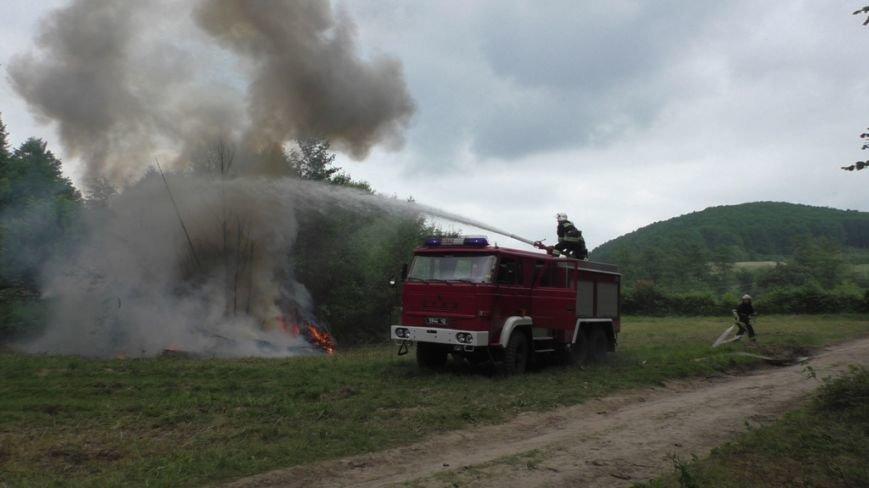 Буковинські рятувальники  вчилися  гасити  масштабну  лісову пожежу (ФОТО) (фото) - фото 7