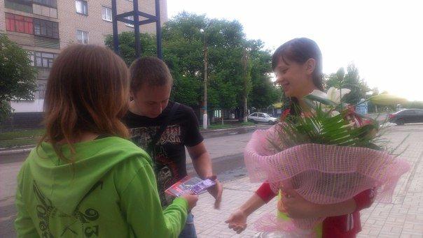 Патриоты Димитрова провели акцию «Твоя гумова броня», фото-5