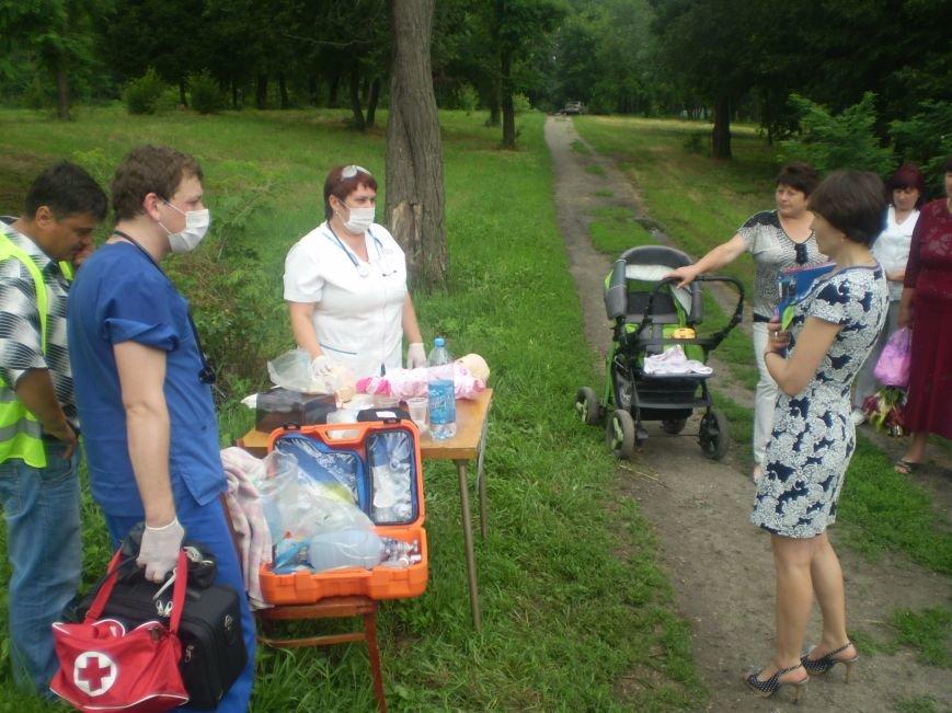 Бригады скорой помощи со всей Днепропетровщины выехали в Павлоград (фото) - фото 1