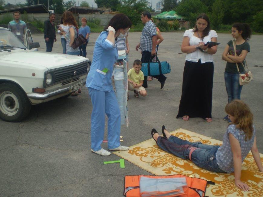 Бригады скорой помощи со всей Днепропетровщины выехали в Павлоград (фото) - фото 2