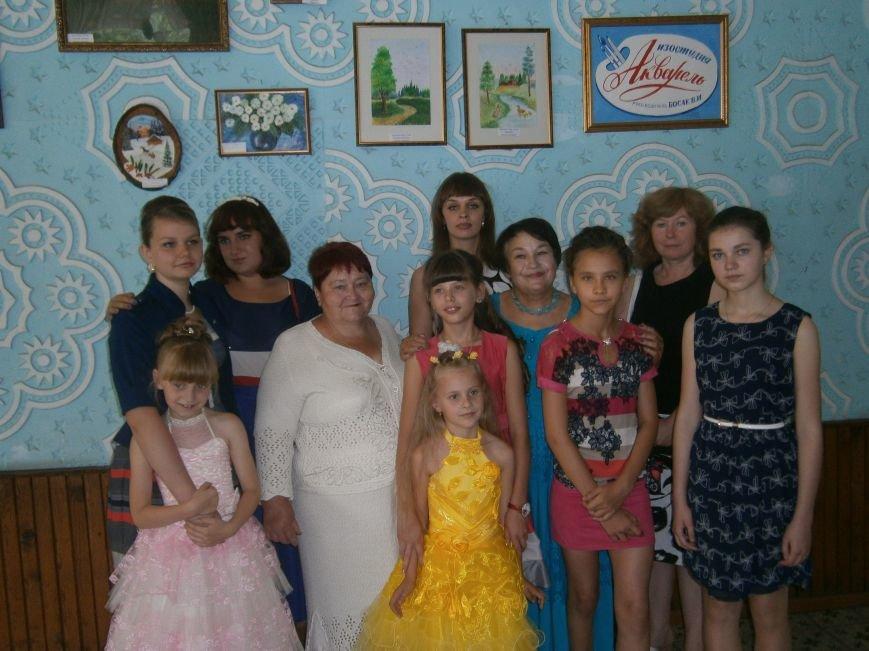 В Димитрове прошла дебютная выставка изостудии «Акварель» (фото) - фото 11