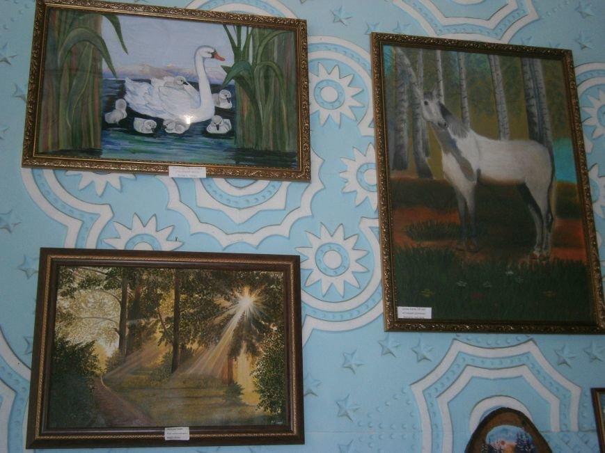 В Димитрове прошла дебютная выставка изостудии «Акварель» (фото) - фото 6