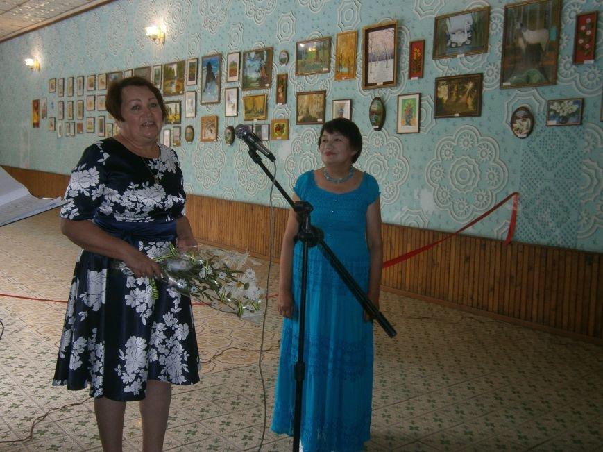В Димитрове прошла дебютная выставка изостудии «Акварель» (фото) - фото 2