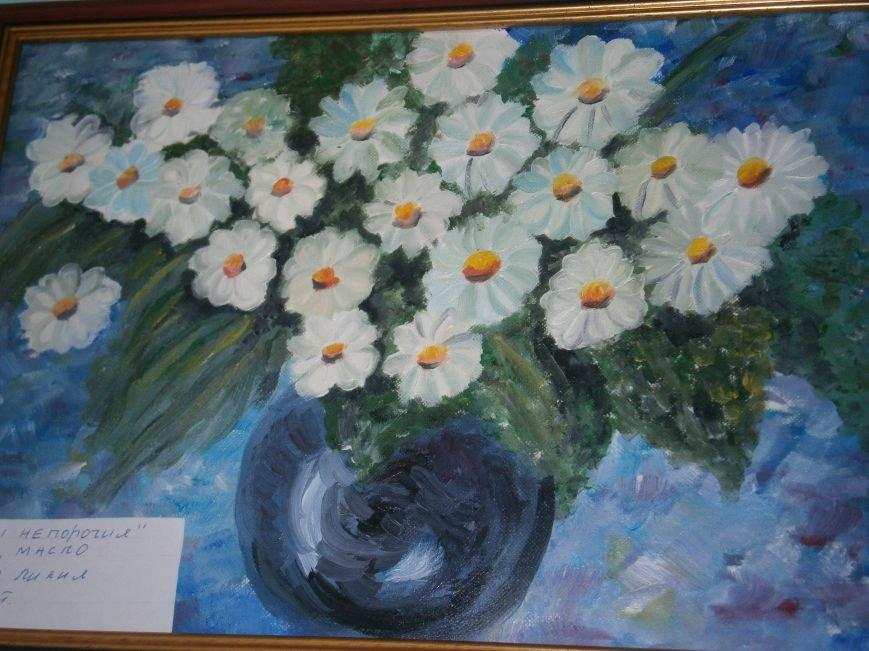 В Димитрове прошла дебютная выставка изостудии «Акварель» (фото) - фото 8