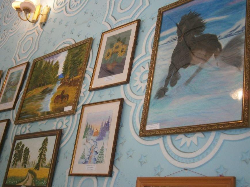 В Димитрове прошла дебютная выставка изостудии «Акварель» (фото) - фото 7