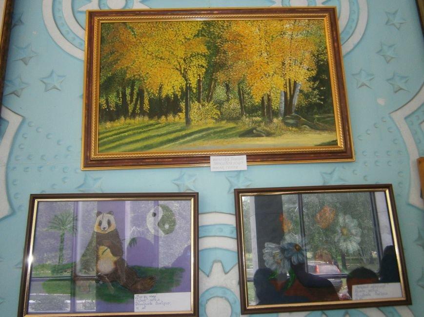 В Димитрове прошла дебютная выставка изостудии «Акварель» (фото) - фото 9