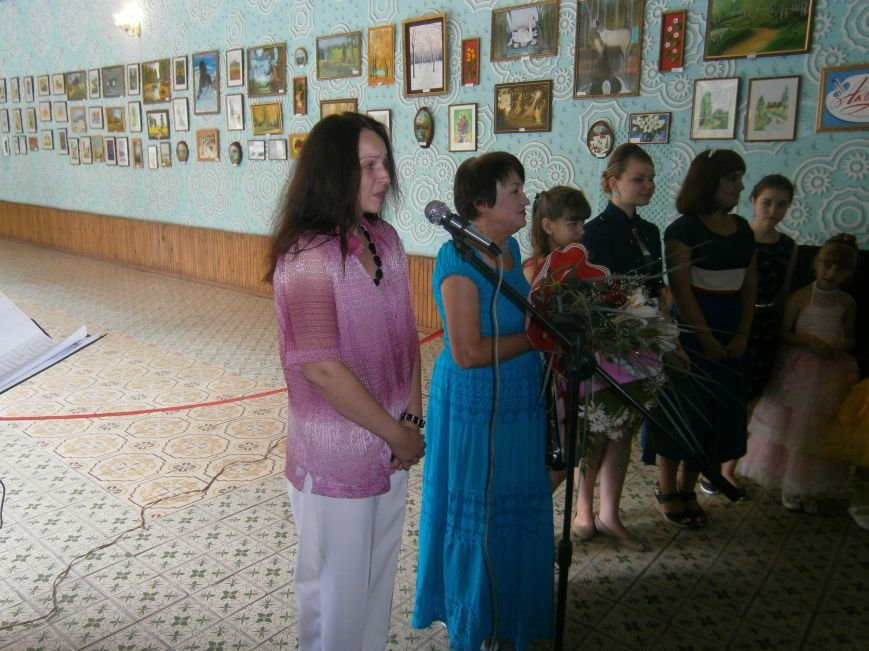 В Димитрове прошла дебютная выставка изостудии «Акварель» (фото) - фото 3