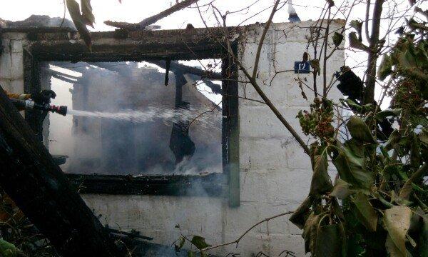 В Гродненском районе женщина выпрыгнула из окна второго этажа спасаясь от пожара (фото) - фото 3