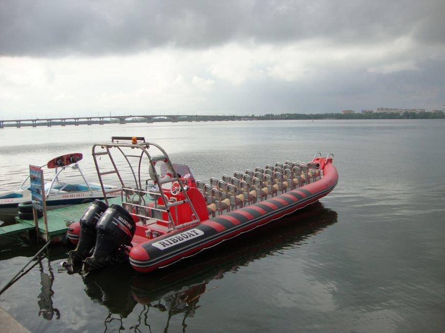 В Днепропетровске запустили скоростной катер (фото) - фото 1