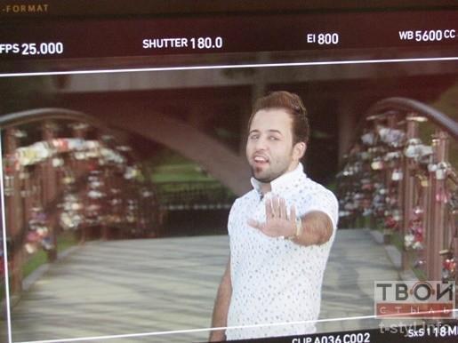 Фотофакт: певец из Ирака снимает клип в парке Жилибера (фото) - фото 5