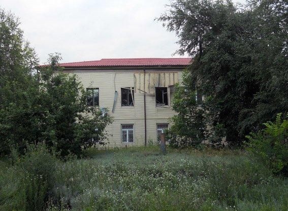 На Полтавщине из гранатомёта расстреляли здание налоговой инспекции (ФОТО) (фото) - фото 1