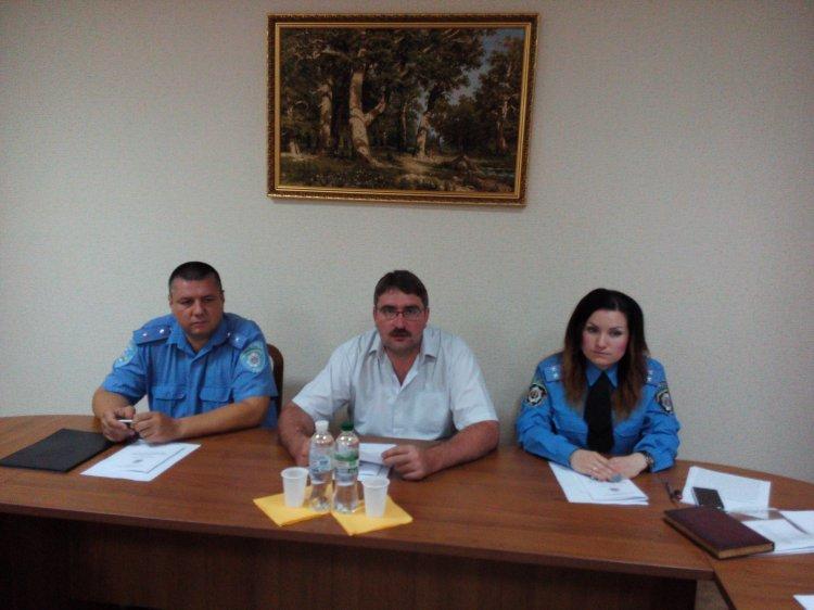 В Донецком юридическом интитуте  провели «круглый стол» с криворожскими гаишниками (ФОТО), фото-4