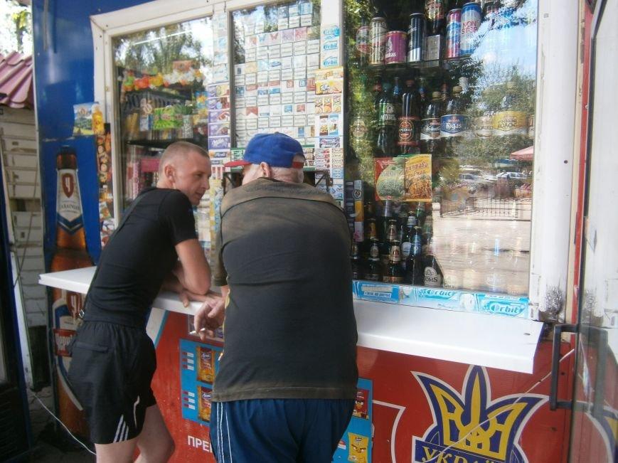 С 1 июля запрещена продажа пива в киосках, однако в Красноармейске и Димитрове этот запрет проигнорирован (фото) - фото 2