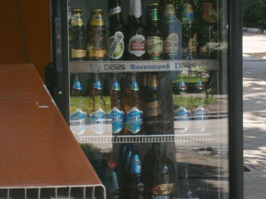 С 1 июля запрещена продажа пива в киосках, однако в Красноармейске и Димитрове этот запрет проигнорирован (фото) - фото 12