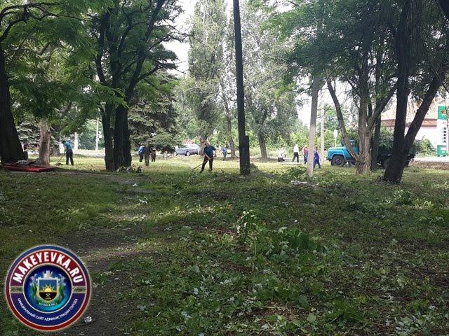 В Горняцком районе благоустраивают парк (фото) - фото 2