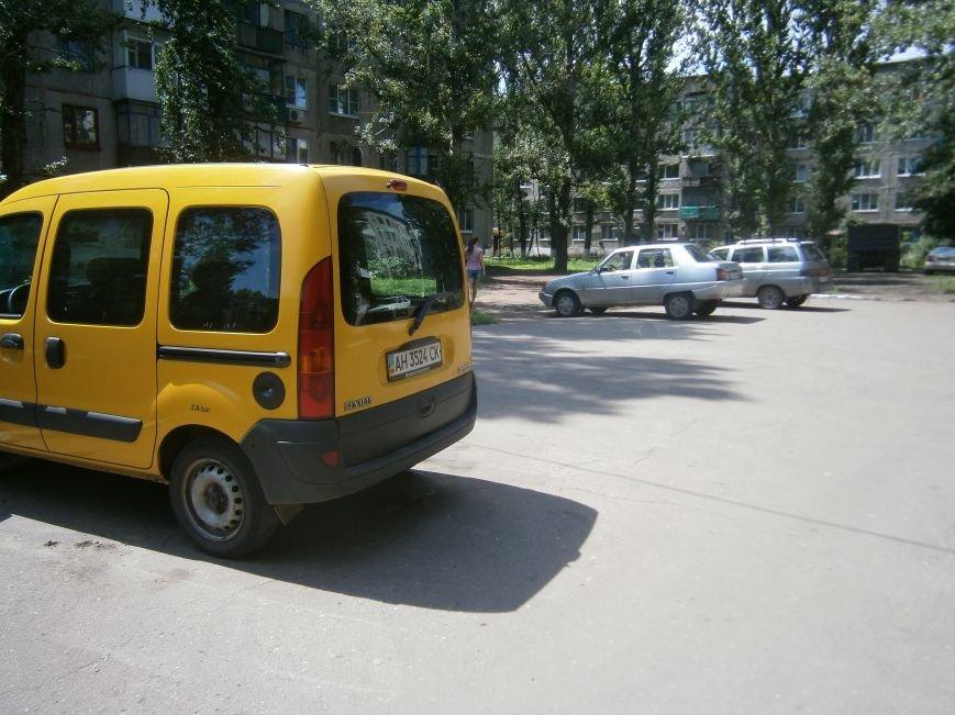 Сегодня ночью в Димитрове был угнан автомобиль (фото) - фото 1