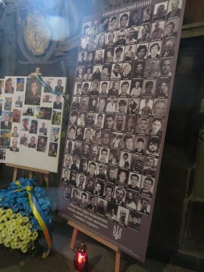 У Львівському Гарнізонному храмі відкрили меморіальну дошку Героям Небесної Сотні (ФОТО) (фото) - фото 3