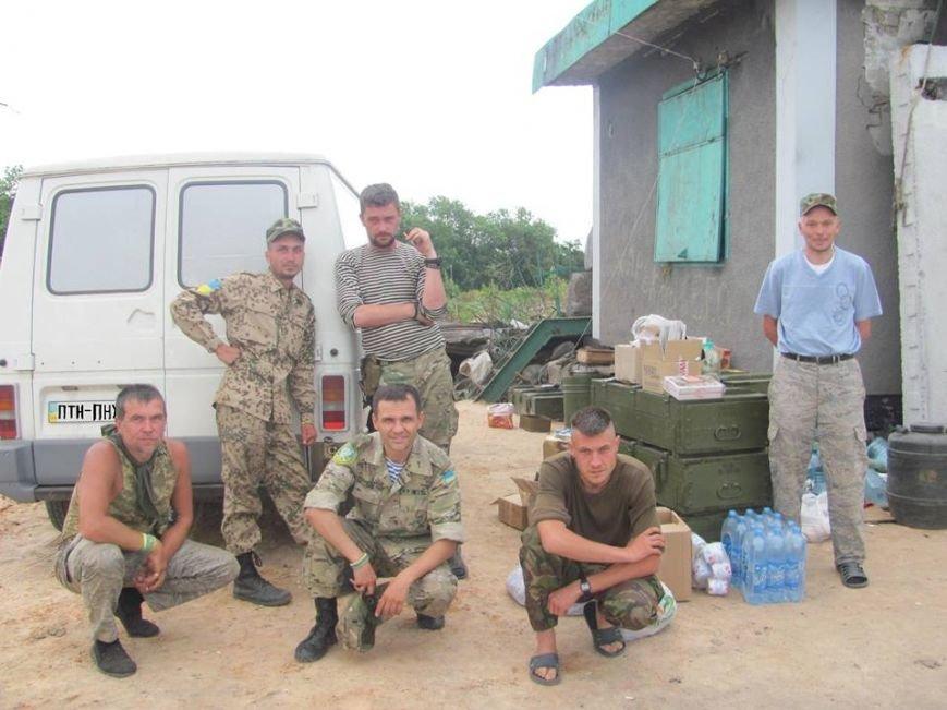 Волонтеры из Кривого Рога доставили «гуманитарку» на блок-посты под Попасную(ФОТО), фото-1
