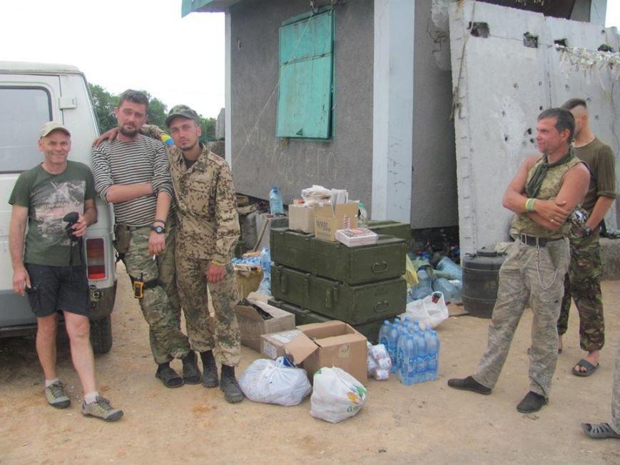 Волонтеры из Кривого Рога доставили «гуманитарку» на блок-посты под Попасную(ФОТО), фото-4