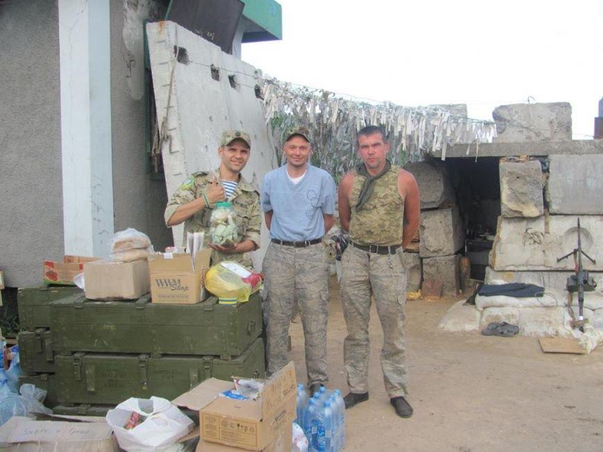 Волонтеры из Кривого Рога доставили «гуманитарку» на блок-посты под Попасную(ФОТО), фото-7