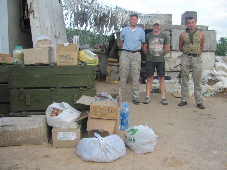 Волонтеры из Кривого Рога доставили «гуманитарку» на блок-посты под Попасную(ФОТО), фото-8