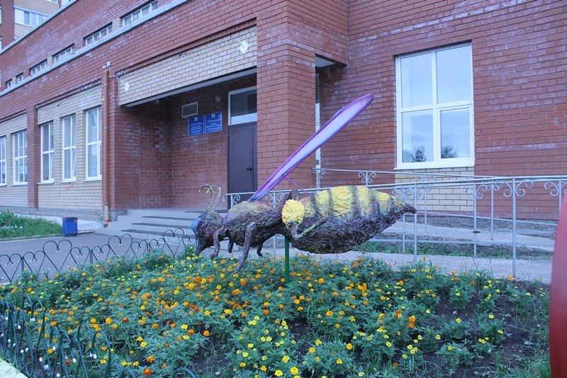 В Уфе появилась еще одна скульптура пчелы (фото) - фото 2