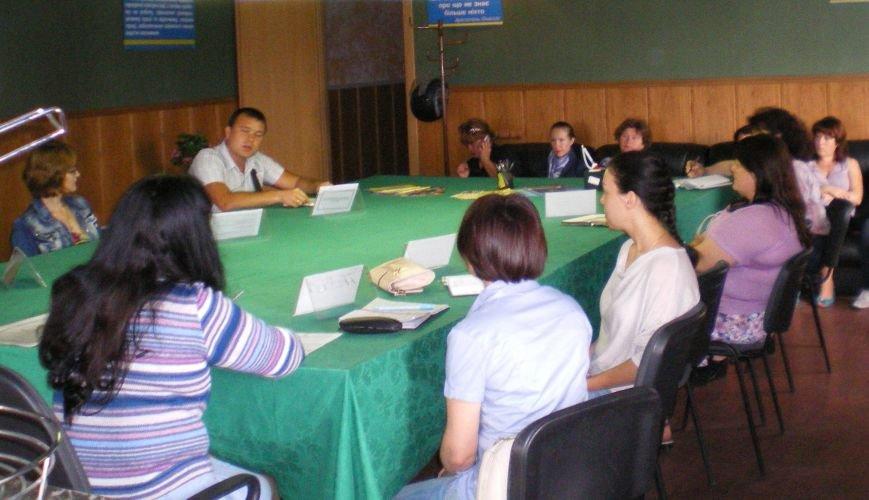 В Димитрове прошел семинар для переселенцев в рамках проекта службы занятости «Под одной крышей» (фото) - фото 1