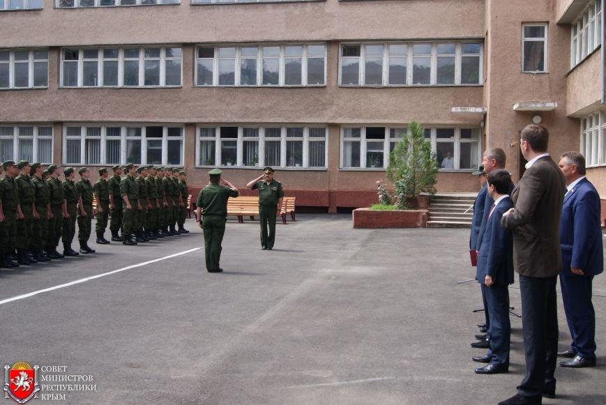 В Симферополе торжественно проводили последних крымских срочников весеннего призыва (ФОТО) (фото) - фото 2