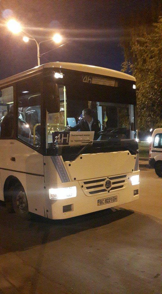 У Львові запрацювали нічні автобуси. Як це було? (ФОТО) (фото) - фото 4