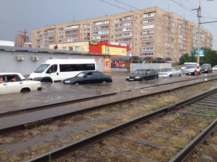 В Ульяновске машины тонут в лужах. Фото (фото) - фото 2