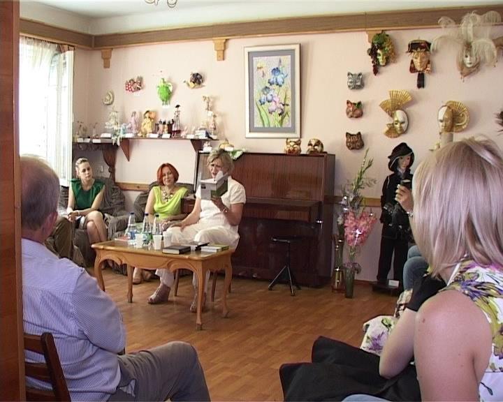 В Доме Дангулова состоялась творческая встреча с писателем Надеждой Кремневой (фото) - фото 1
