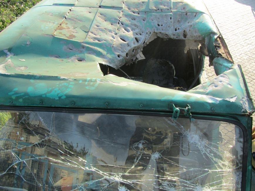 Мариупольские пограничники чтут память погибших год назад в Новоазовске коллег (ФОТО), фото-6