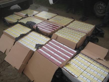 На Прикарпатті ліквідували контрабанду тютюну (ФОТО) (фото) - фото 1