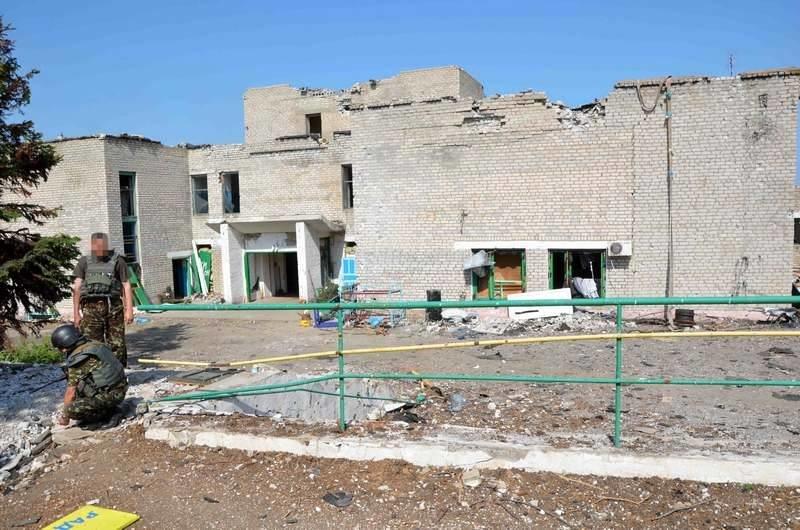 Пресс-центр АТО опубликовал фото разрушенного Широкино (ФОТО), фото-3