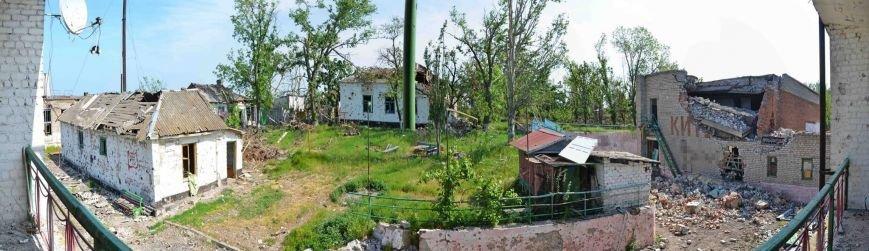 Пресс-центр АТО опубликовал фото разрушенного Широкино (ФОТО), фото-1