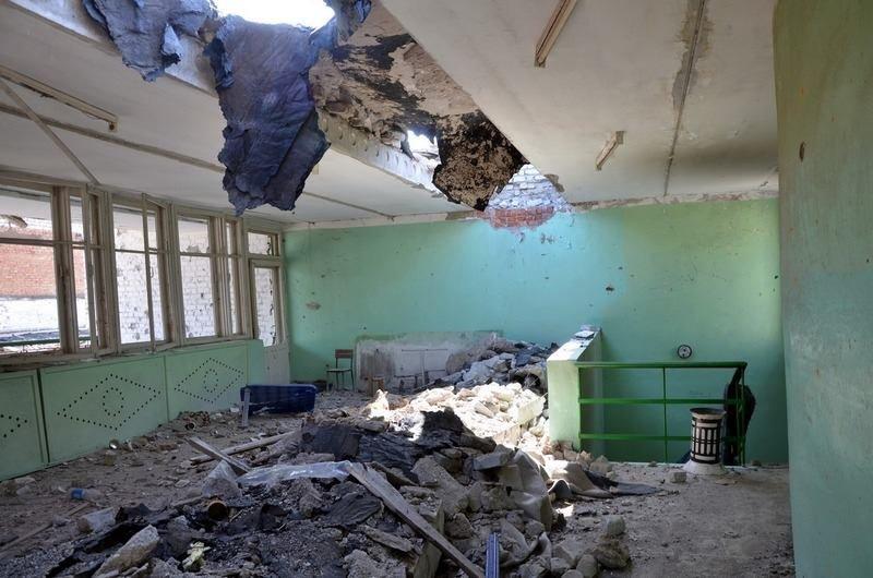 Пресс-центр АТО опубликовал фото разрушенного Широкино (ФОТО), фото-6