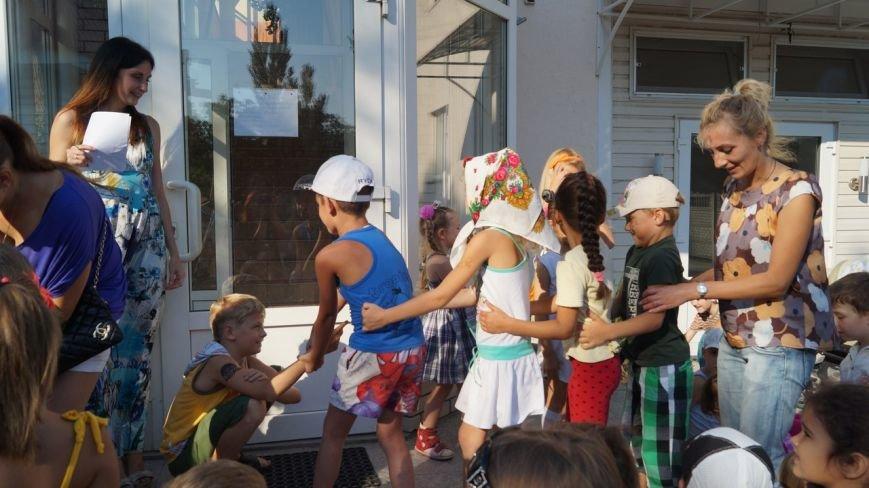 В Бердянске прошел праздник для детей из зоны АТО (фото) - фото 4