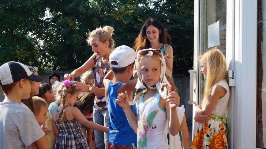 В Бердянске прошел праздник для детей из зоны АТО (фото) - фото 5