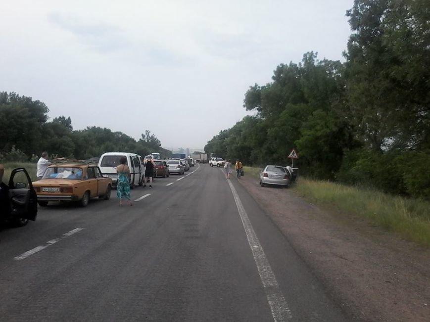 Среднее время стояния в очереди, чтобы покинуть пределы «ДНР», - 9 часов (ФОТО), фото-4