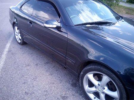 На Сумщине задержан автомобиль-двойник Mercedes CLK 200 (ФОТО), фото-1