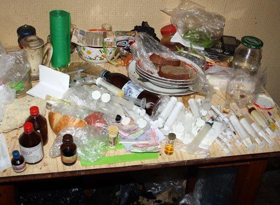 В Кременчуге ликвидировали нарколабораторию (ФОТО) (фото) - фото 1