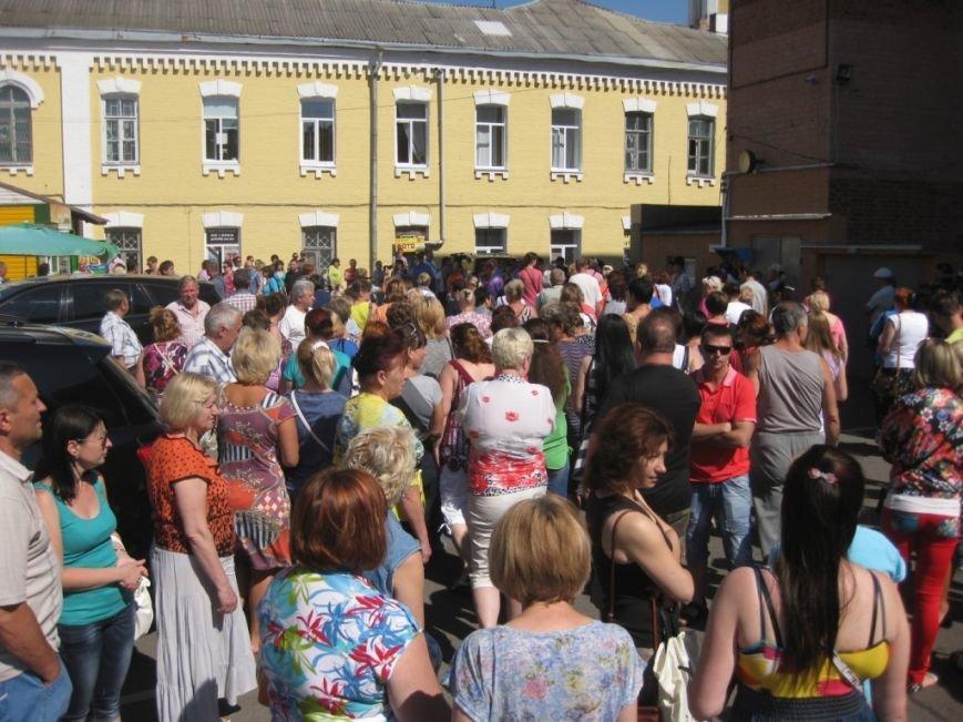 Торговцы с Центрального рынка на час перекрыли главную дорогу Чернигова, фото-3