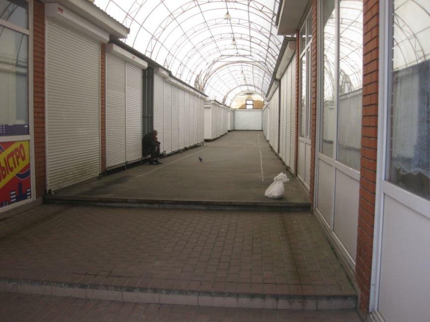 Торговцы с Центрального рынка на час перекрыли главную дорогу Чернигова, фото-4