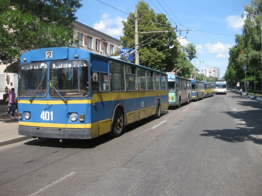 Торговцы с Центрального рынка на час перекрыли главную дорогу Чернигова, фото-14