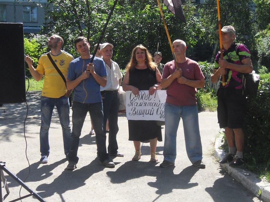 Як працюють полтавські професійні мітингувальники. Фотофакт (фото) - фото 1