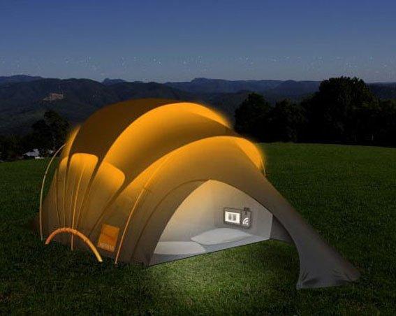 Топ 10 палаток, в которых хочется жить (фото) - фото 2