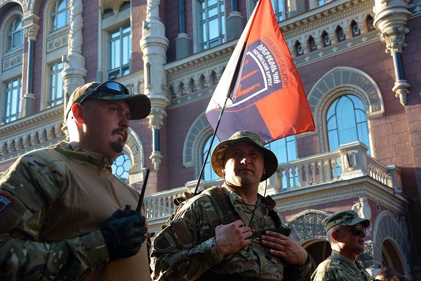 В Киеве добровольцы требовали объявить России войну (ФОТОРЕПОРТАЖ) (фото) - фото 2